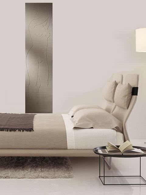 kunst heizk rper lady wohnzimmer heizk rper senia. Black Bedroom Furniture Sets. Home Design Ideas